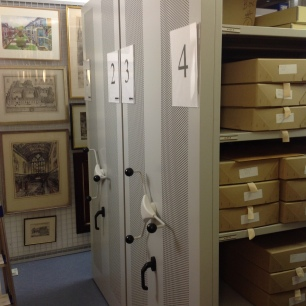 Art storage and personal papers